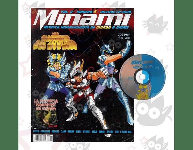 Minami Volumen II N° 4: Saint Seiya + CD