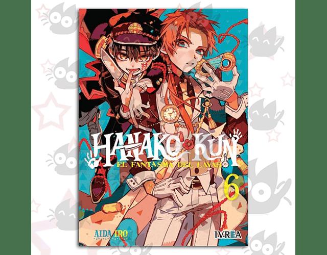 Hanako-Kun, El Fantasma del Lavado Vol. 6 - O