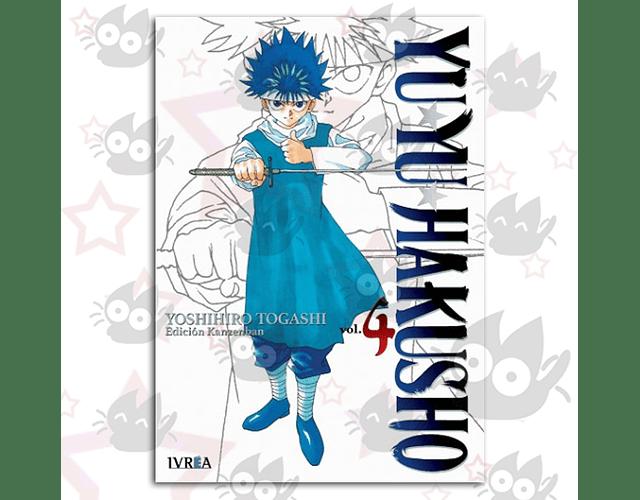 Yuyu Hakusho Vol. 4 - Kanzenban