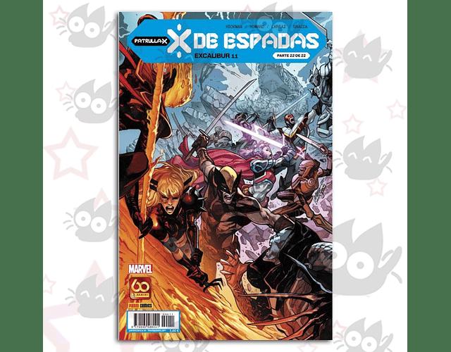 X de Espadas - Excalibur 11. (Parte 22 de 22) Ejemplar firmado