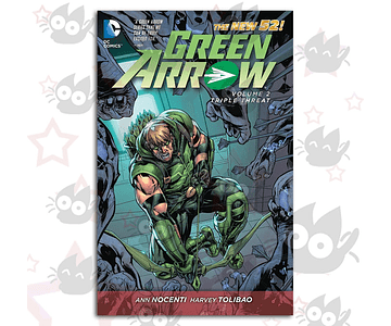 Green Arrow Vol. 2: Triple Threat