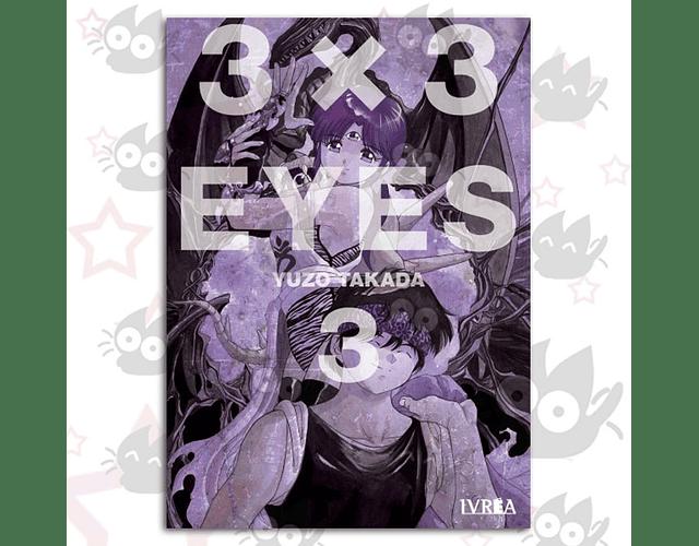 3x3 Eyes Vol. 3