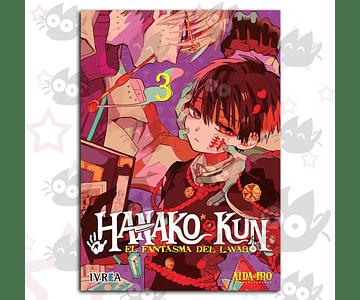 Hanako-Kun, El Fantasma del Lavabo Vol. 3