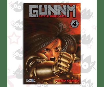 Gunnm - Battle Angel Alita Vol. 4