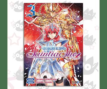 Saint Seiya - Los Caballeros Del Zodiaco - Saintia Sho Vol. 3