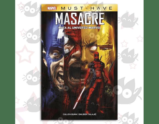 Marvel Must Have. Masacre Mata al Universo Marvel