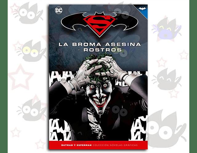 Batman y Superman: La Broma Asesina y Rostros - G