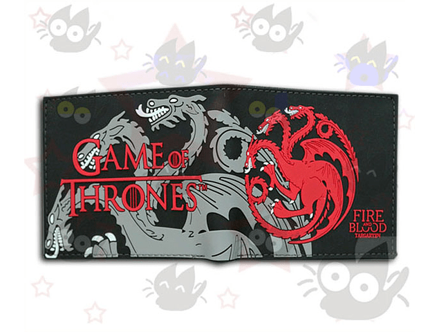 Game of Thrones - Billetera Targaryen