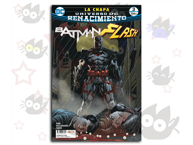 Batman / Flash : La Chapa #3