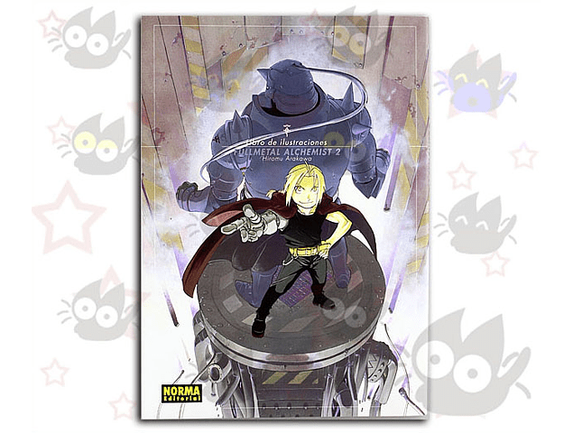 Fullmetal Alchemist Libro de Ilustraciones 2