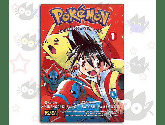 Pokemon Vol. 13: Rojo Fuego y Verde Hoja Vol. 1