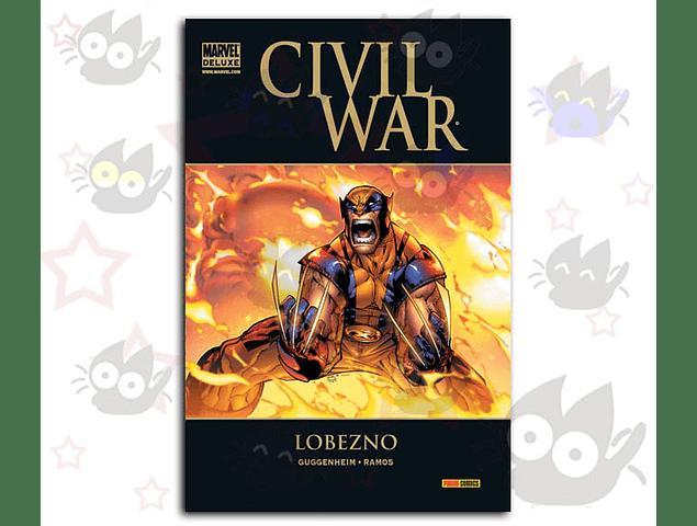 Marvel Deluxe - Civil War: Lobezno