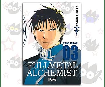 Fullmetal Alchemist Kanzenban Vol. 3
