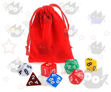 Dados de Rol para Dungeons and Dragons