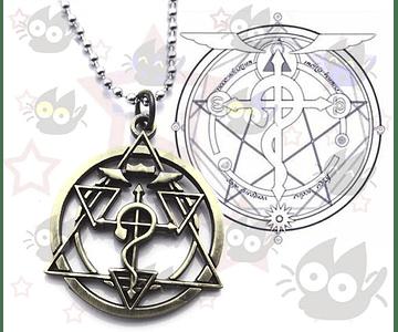Fullmetal Alchemist- Collar Círculo de Transmutación