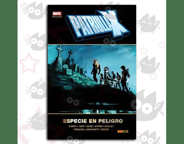 Marvel Deluxe. Patrulla-X: Especie en Peligro