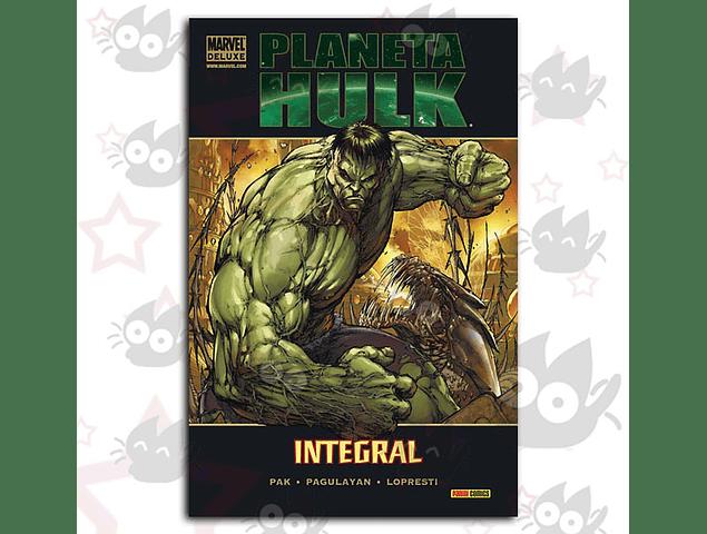 Marvel Deluxe: Planeta Hulk - Integral