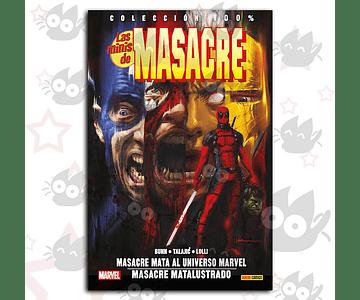 100% Marvel. Las Minis de Masacre Vol. 2: Masacre mata al Universo Marvel / Masacre Matalustrado - G