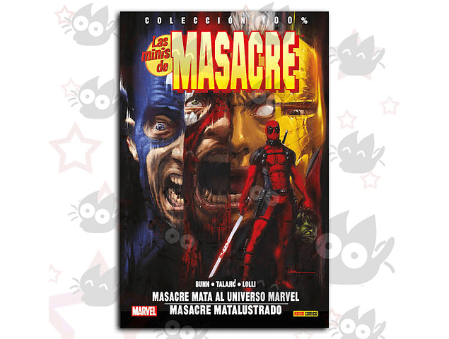 Las Minis de Masacre Vol. 2 - Masacre Mata al Universo Marvel / Masacre Matalustrado