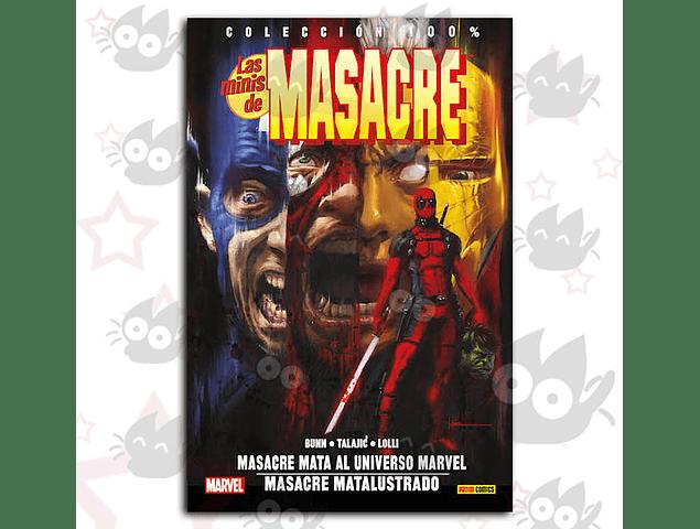 100% Marvel. Las Minis de Masacre Vol. 2: Masacre mata al Universo Marvel / Masacre matalustrado