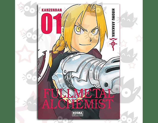Fullmetal Alchemist Kanzenban Vol. 1
