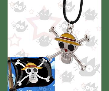 One Piece - Collar Luffy Jolly Roger