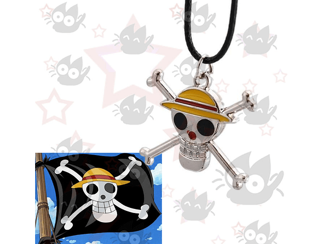One Piece - Collar Luffy Jolly Roger