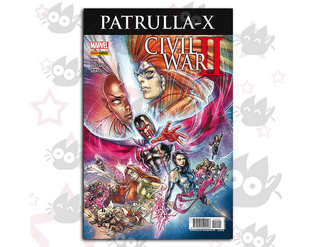 Civil War II: Crossover Vol. 1 Patrulla-X