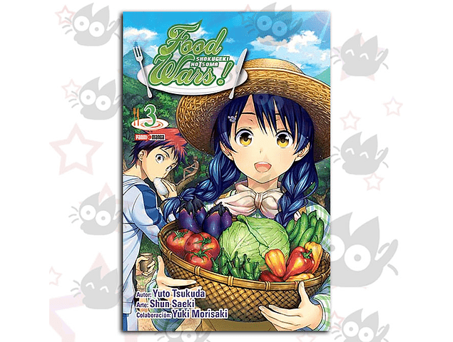 Food Wars Vol. 3