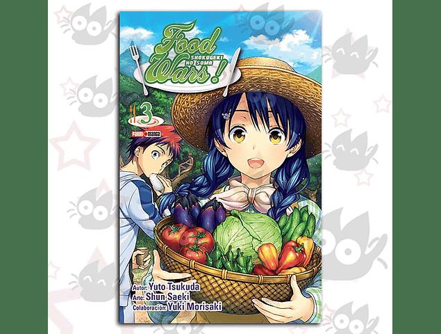 Food Wars Vol. 3