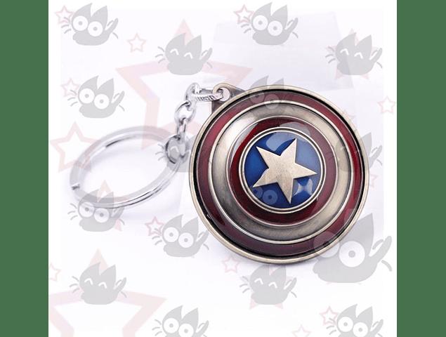 Capitán América - Llavero Escudo
