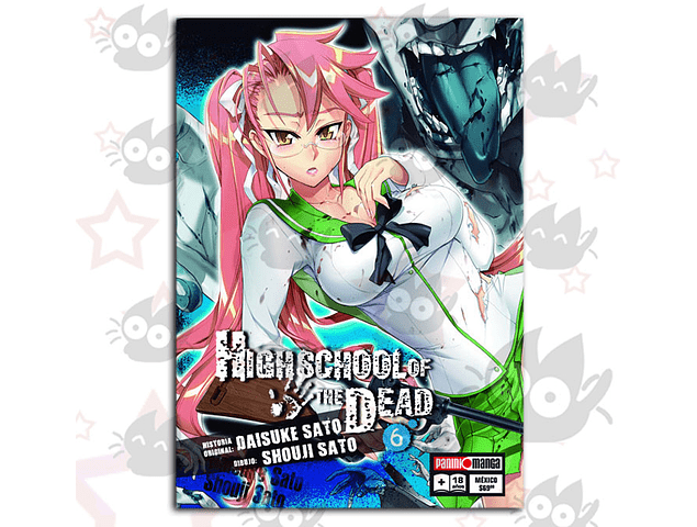 High School of the Dead Vol. 6
