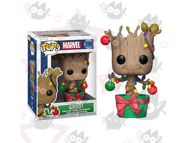 Funko Pop: Guardianes de la Galaxia - Groot