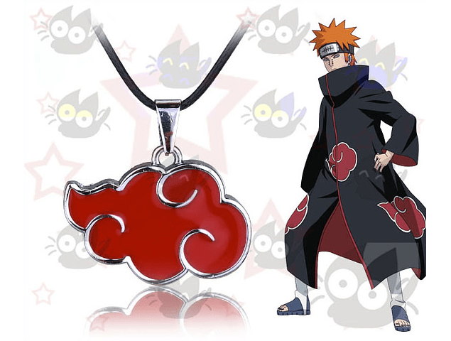 Naruto - Collar Akatsuki