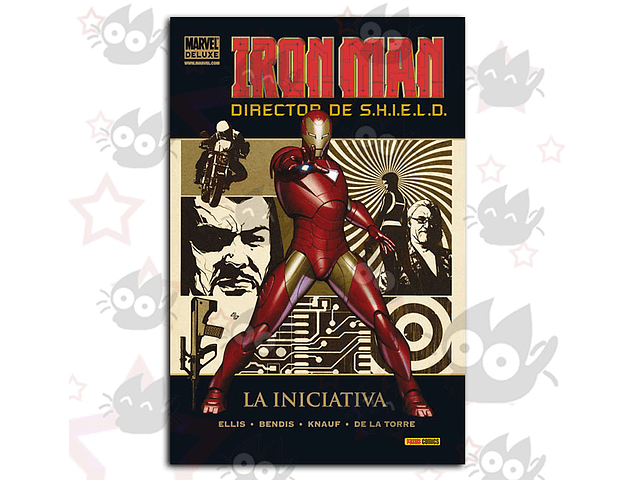 Marvel Deluxe. Iron Man: Director de S.H.I.E.L.D Vol. 1; La Iniciativa