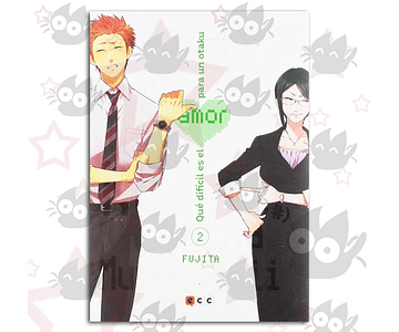 Qué Dificil es el Amor para un Otaku Vol. 2