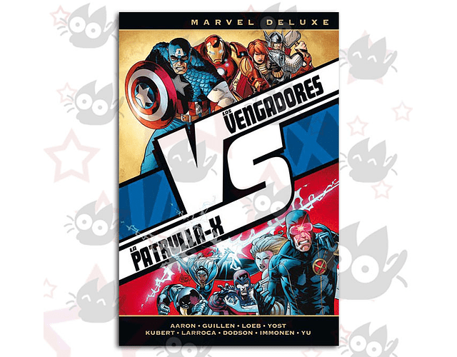 Marvel Deluxe. VvX: Los Vengadores Vs. La Patrulla-X