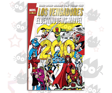 Marvel Gold: Los Vengadores, El Destino de Ms. Marvel
