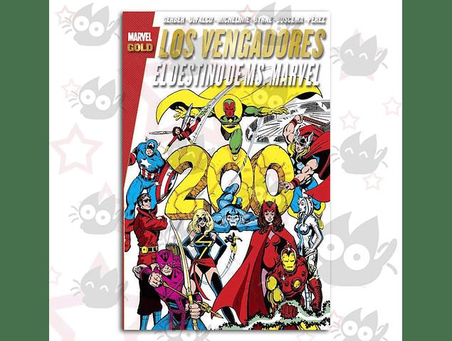 Marvel Gold: Los Vengadores, El Destino de Ms. Marvel