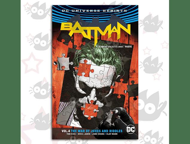Batman Rebirth Vol. 4 - The War of Jokes and Riddles