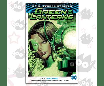 Green Lanterns Vol. 1: Rage Planet (Rebirth)