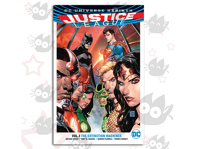 Justice League Vol. 1: The Extinction Machines (Rebirth)