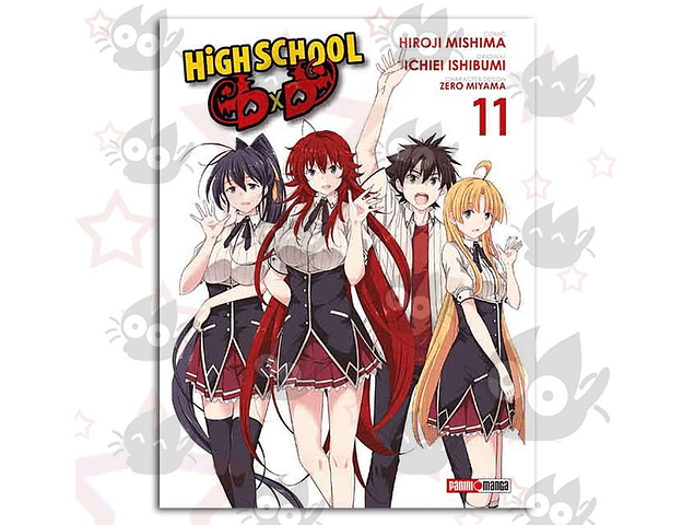 High School DxD Vol. 11