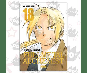 Fullmetal Alchemist Kanzenban Vol. 18