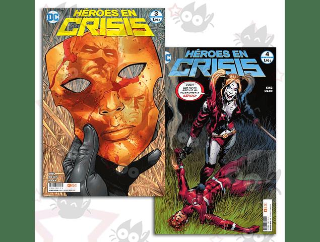Héroes en Crisis #3 y #4