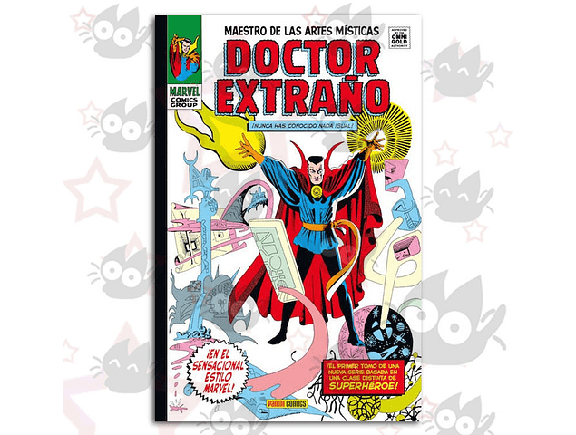 Marvel Gold Doctor Extraño: Maestro de las Artes Místicas