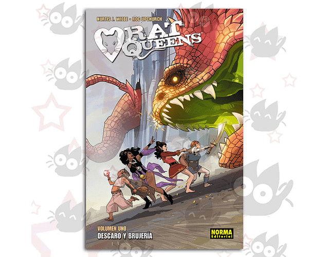 Rat Queens Vol. 1 - Descaro y Brujeria