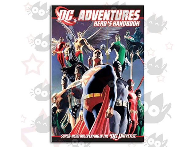 DC Adventures Hero's Handbook Vol. 1 - Super Hero Roleplaying in the DC Universe