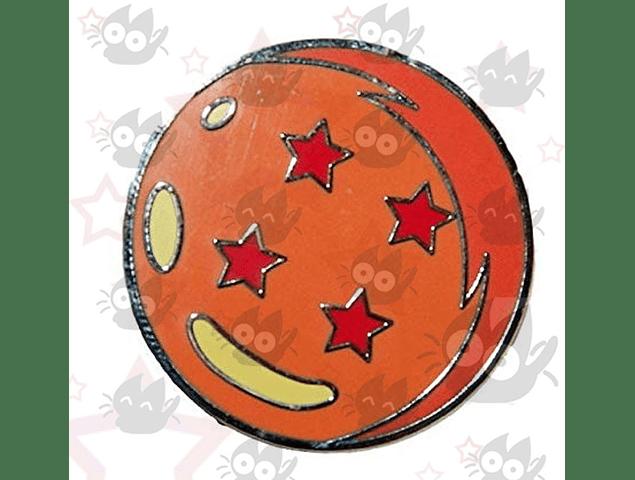 Dragon Ball - Pin Esfera 4 Estrellas