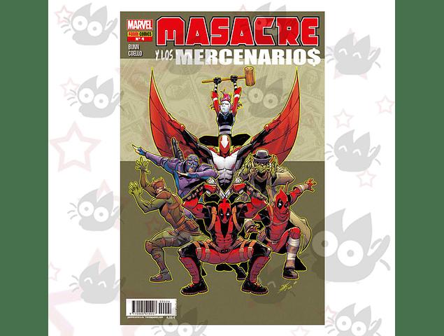 Masacre y los Mercenarios Vol. 4